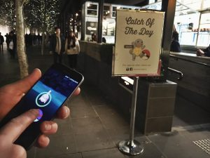 The Fish And Chippery on Southbank, a hotspot for Pokemon GO players, is also using the success of the game to attract customers