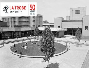 La Trobe University celebrates its 50th anniversary in 2017.