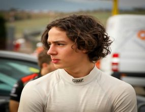 The 16 year old Tasmanian is aiming to be a Formula One..