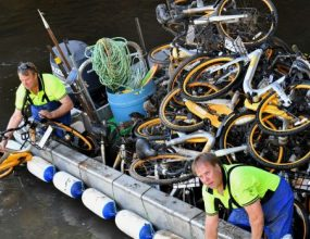 Council receives backlash on oBikes crushing initiative