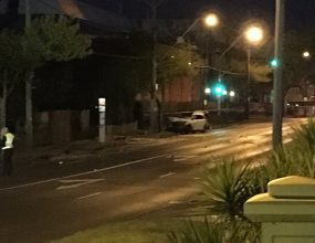 Horror crash in Oakleigh
