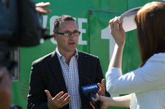 Greens claim self sabotage for electorate loss
