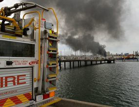 'There's a lot of explosions': Campbellfield fire may last days