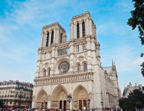 Notre Dame main structure saved from fire.