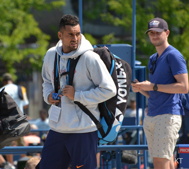 Kyrgios in the spotlight again.