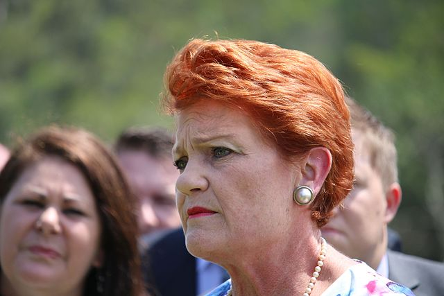 Pauline Hanson takes stand as election nears