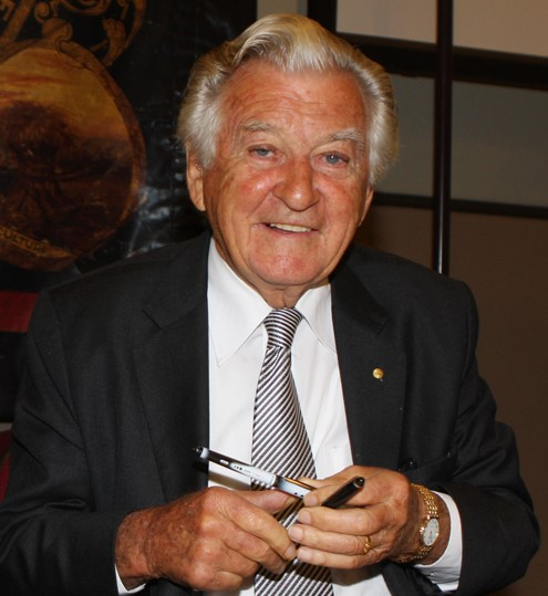 Hawke had some defining moments as PM.