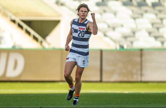Geelong's newest draftee has big shoes to fill.