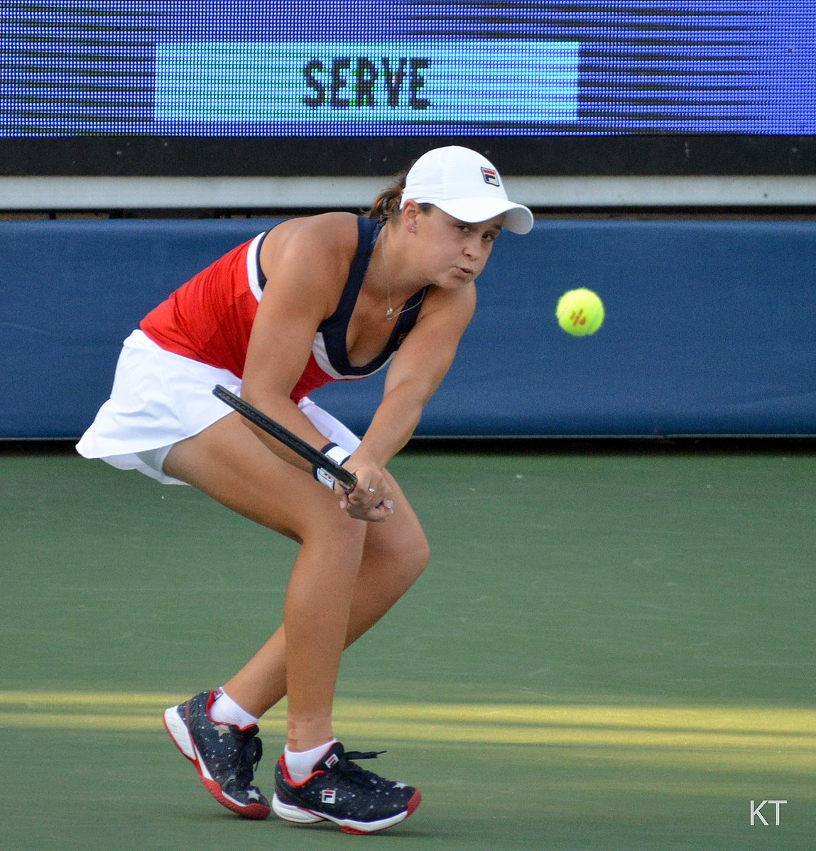Ash Barty survives first round scare in US Open