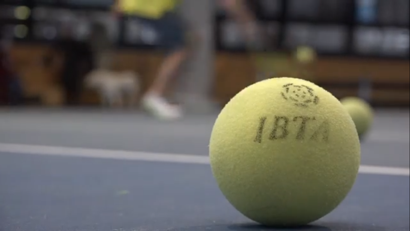 Hand-eye coordination is everything on the tennis court? But..