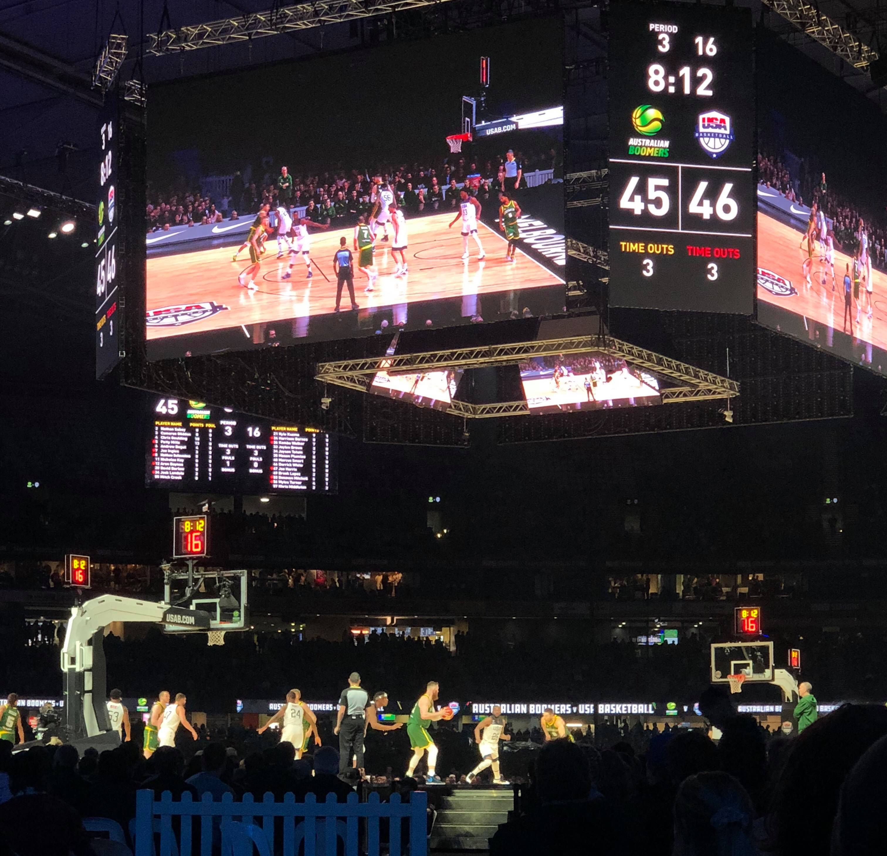 Boomers grind out important win over France