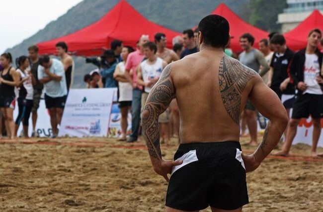 Samoan rugby team to cover up tattoos during World Cup