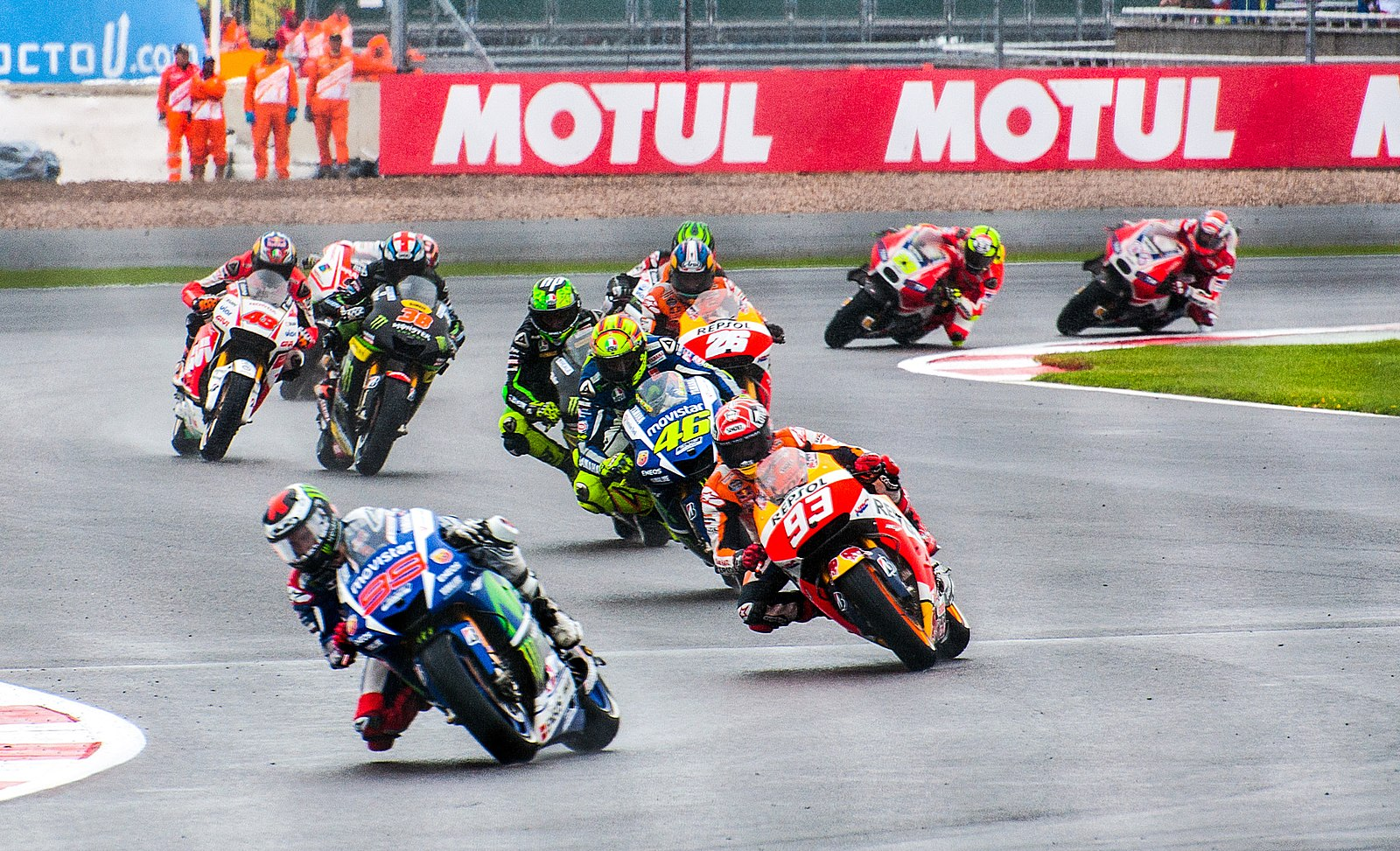 Police aim to reduce motorcycle road trauma during MotoGP.