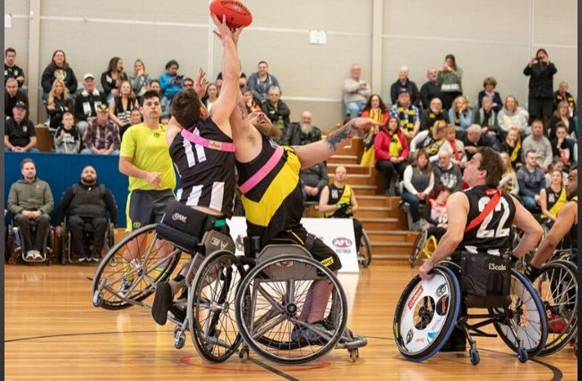 Growing the Vic Wheelchair Football League