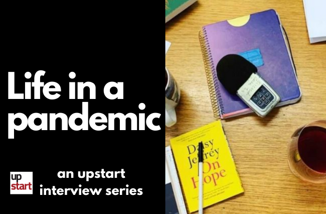 Life in a Pandemic: The talk radio producer