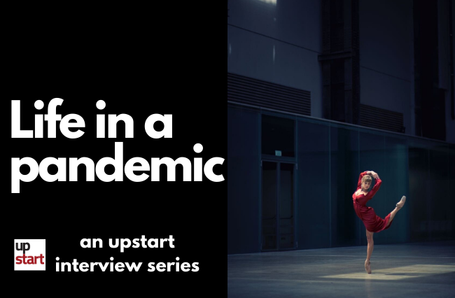 Life in a pandemic: The professional ballet dancer
