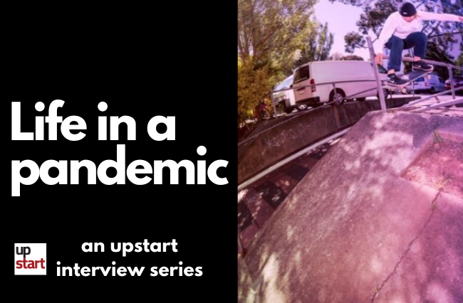 Life in a pandemic: The Olympics-bound skateboarder