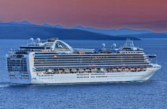 Ruby Princess cruise ship to dock at Port Kembla