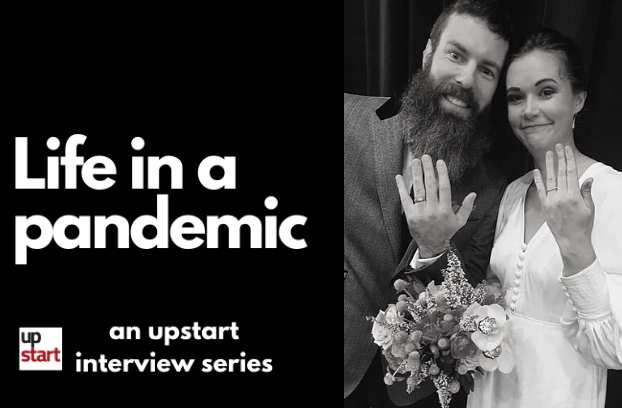 Life in a pandemic: The Zoom wedding