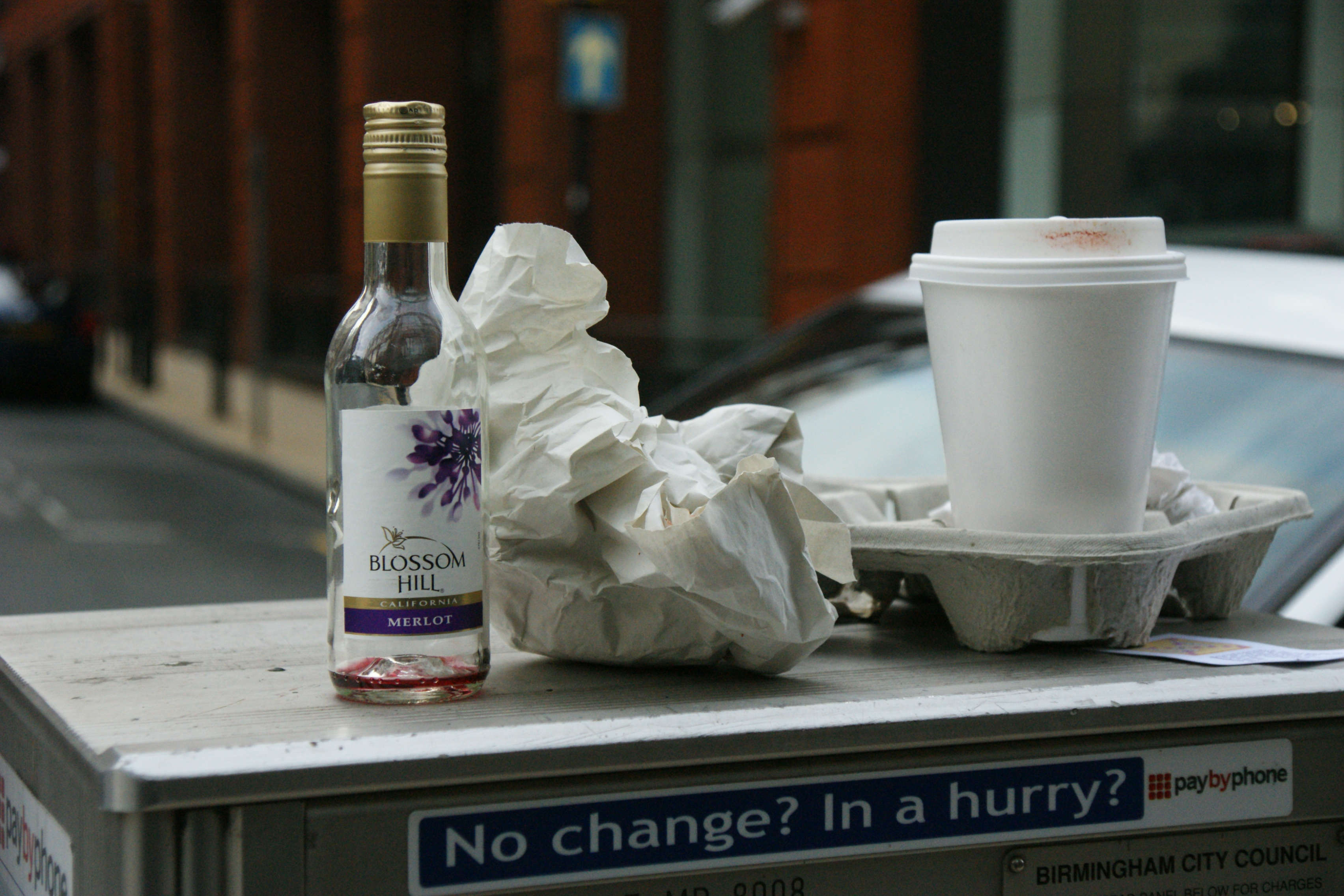 Rubbish on the rise with takeaway only