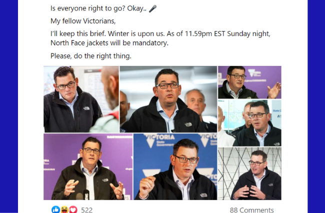 How to perfectly impersonate Daniel Andrews