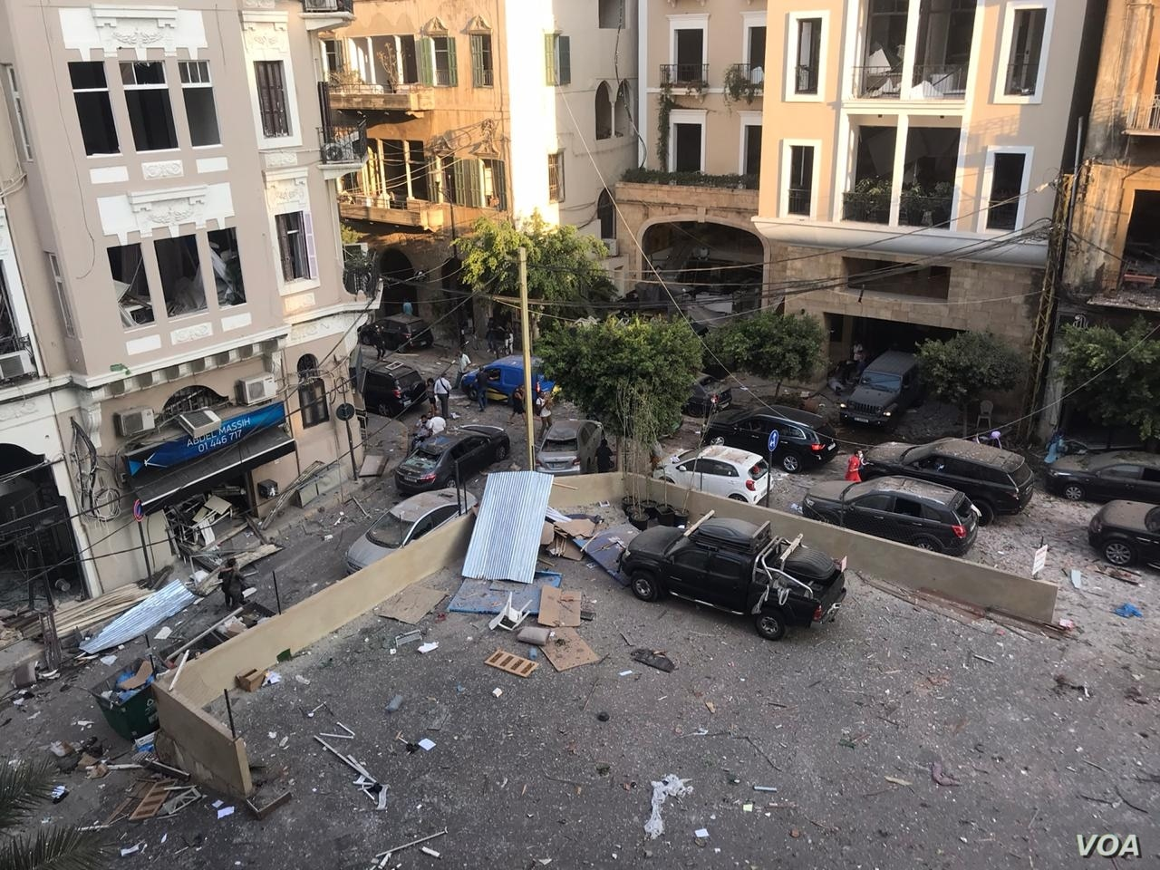 Huge explosion shakes Lebanon's capital
