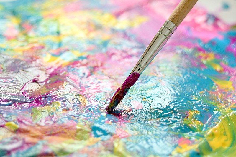 Managing COVID stress through art therapy