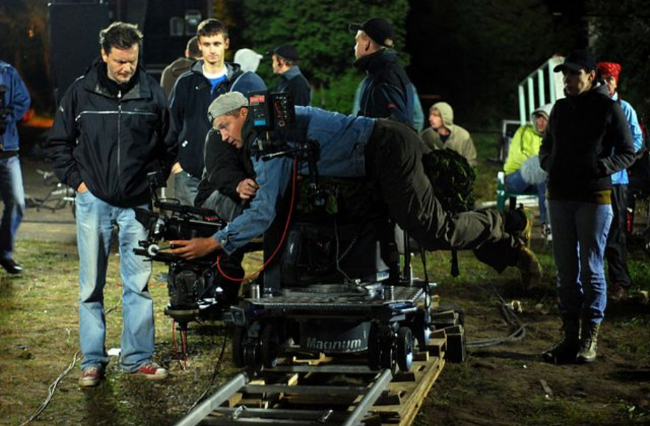 Cameras back in action as the film industry resumes