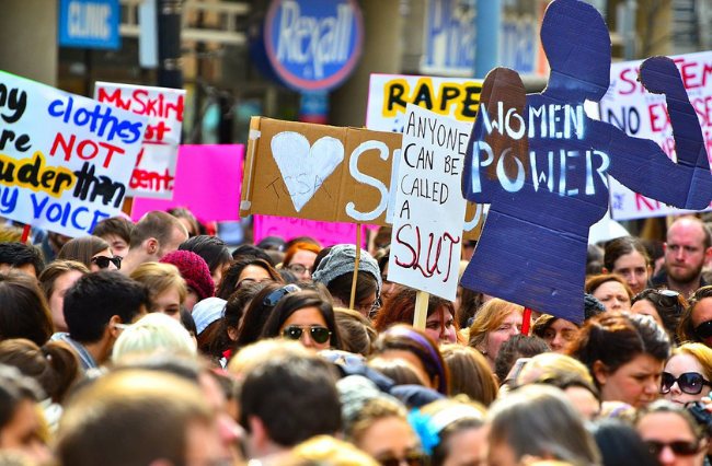 Women in Protest: Reframing sexual narratives