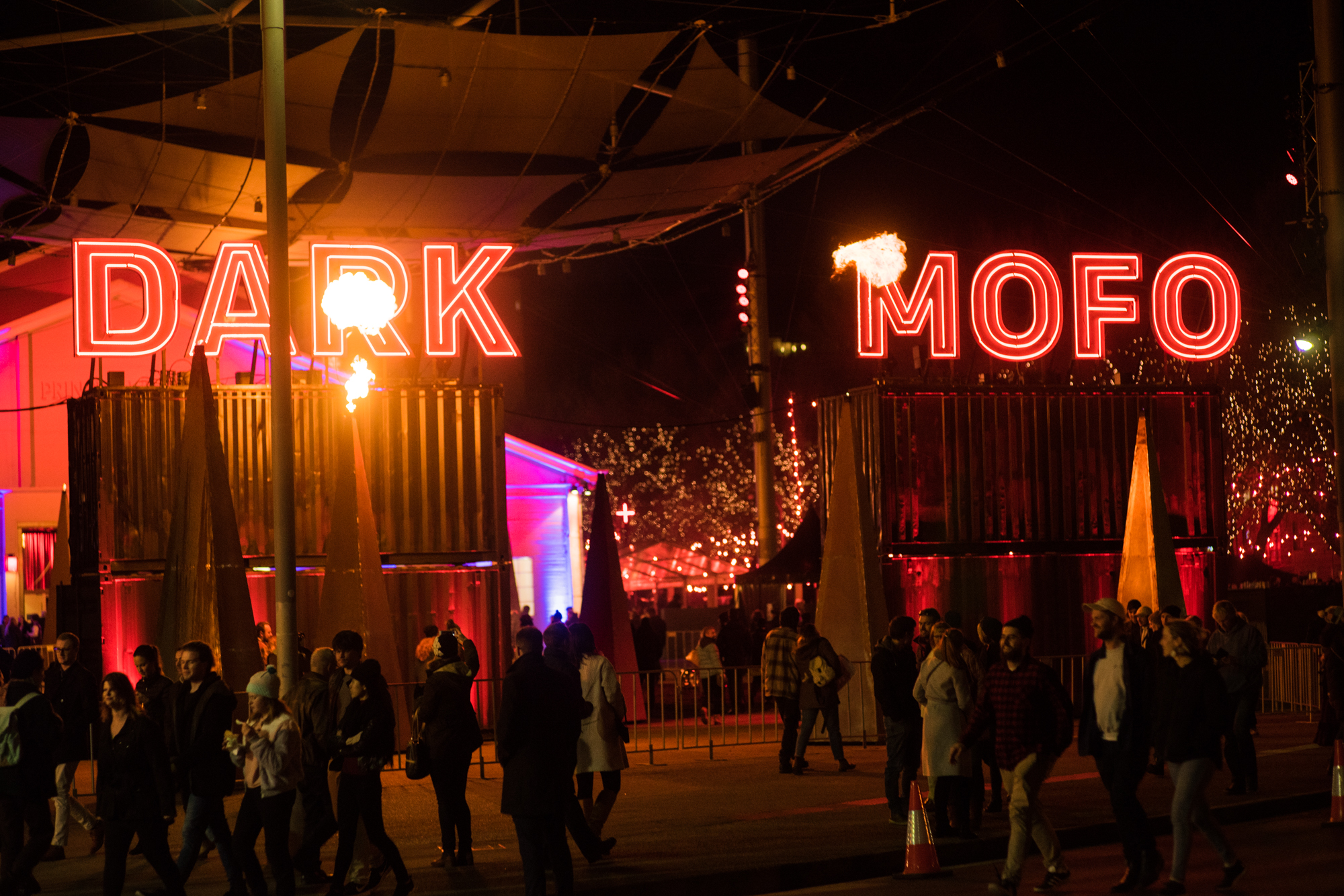 Dark Mofo's call for blood criticised