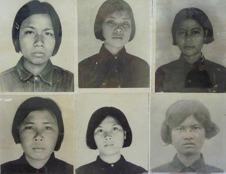 Outrage over images of Khmer Rouge victims smiling
