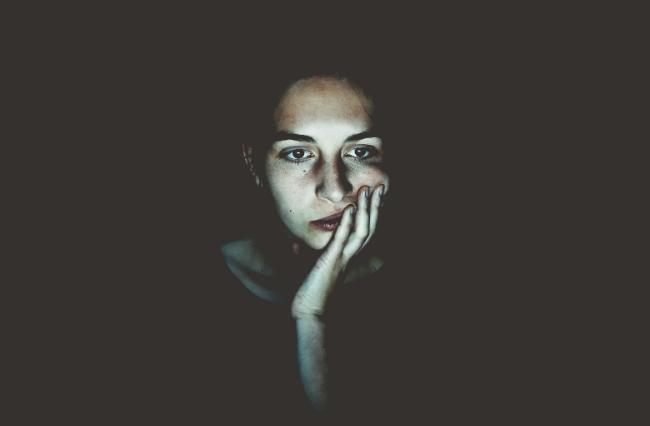 Blue light can suppress the release of melatonin.