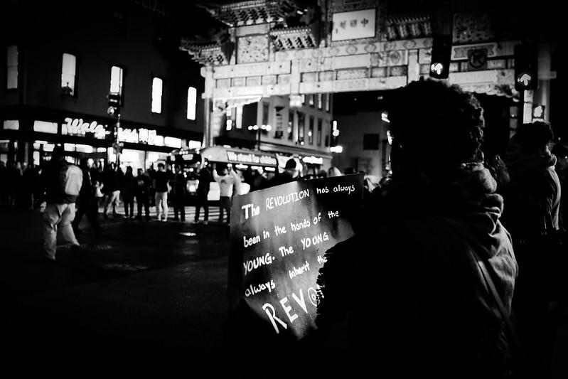 BLM activist shot in London