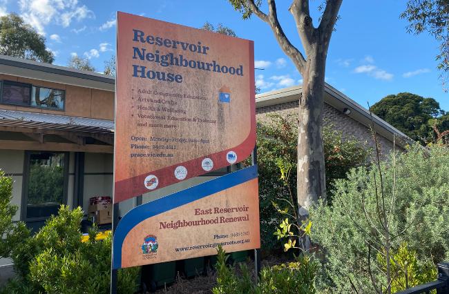 Reservoir Neighbourhood House is a community organisation..