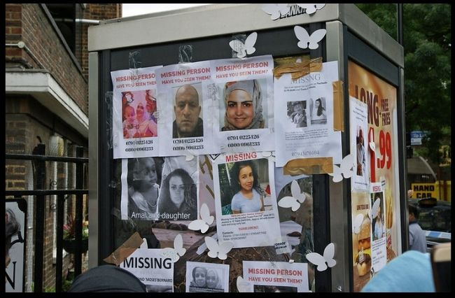 Missing persons and those left behind
