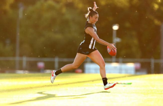 Amelia Velardo: Accelerating onto the AFLW scene