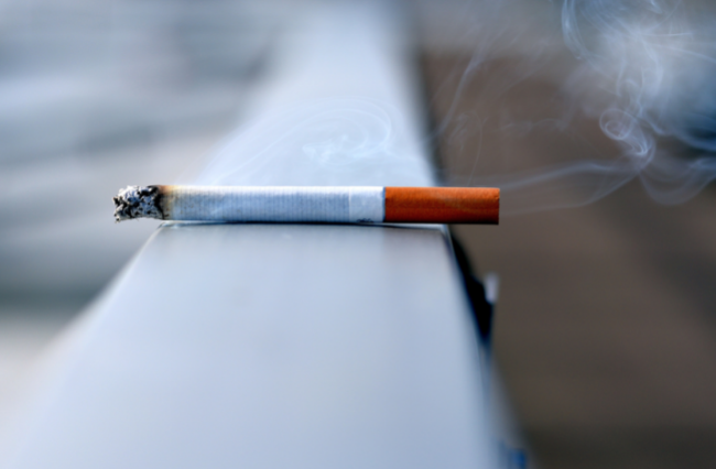 Are cigarette companies quitting smoking?