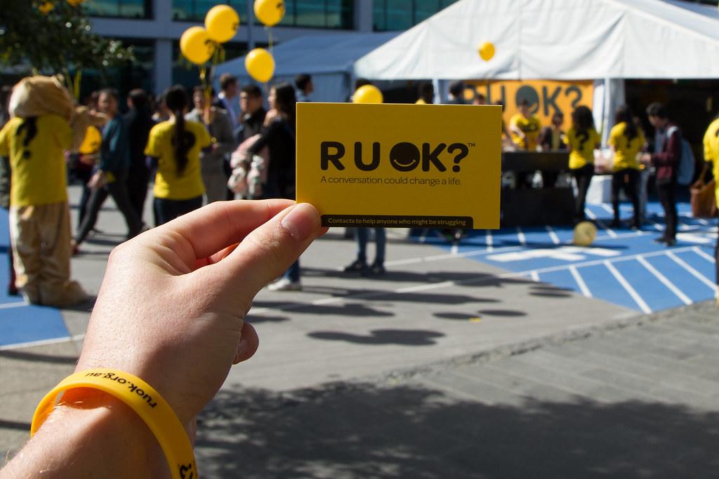 R U OK Day highlighting the importance of mental health